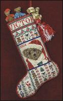 JN149 Victor's Stocking • ©2005, Just Nan, Inc.