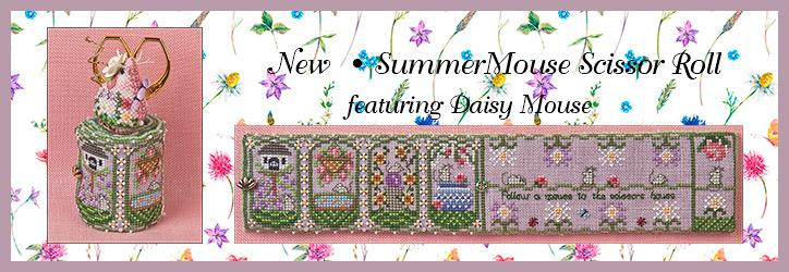 NEW  • JUST NAN SUMMER MOUSE SCISSOR ROLL